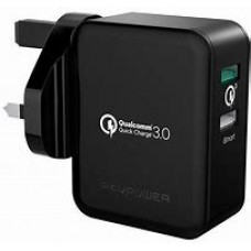 RAV Power 3.0 QC 3.0 Charger with Dual Port
